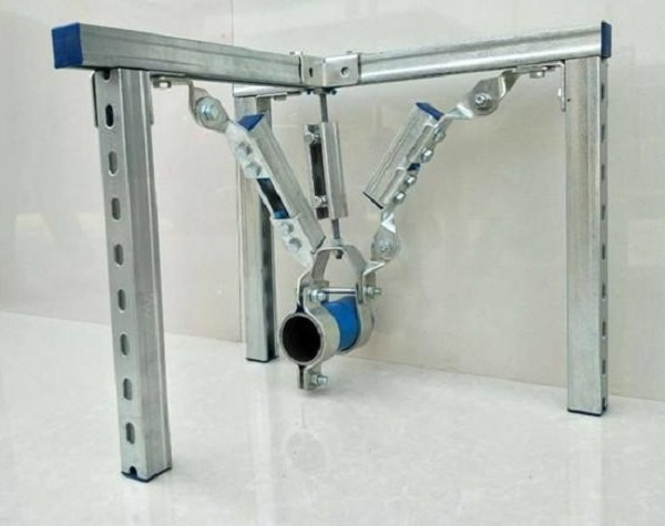 对于如何简化成品抗震支架在设计中的受力问题,我们可以这样做!