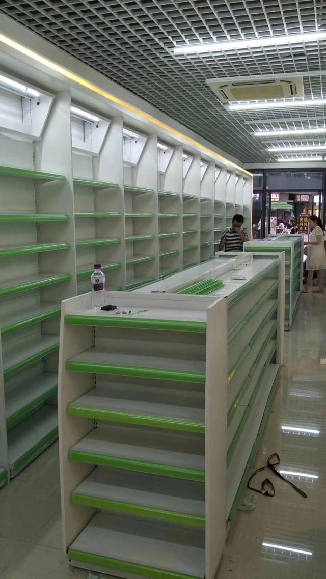 四川药品货架建筑案例