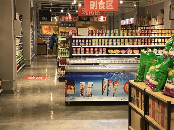 四川超市货架厂家客户案例