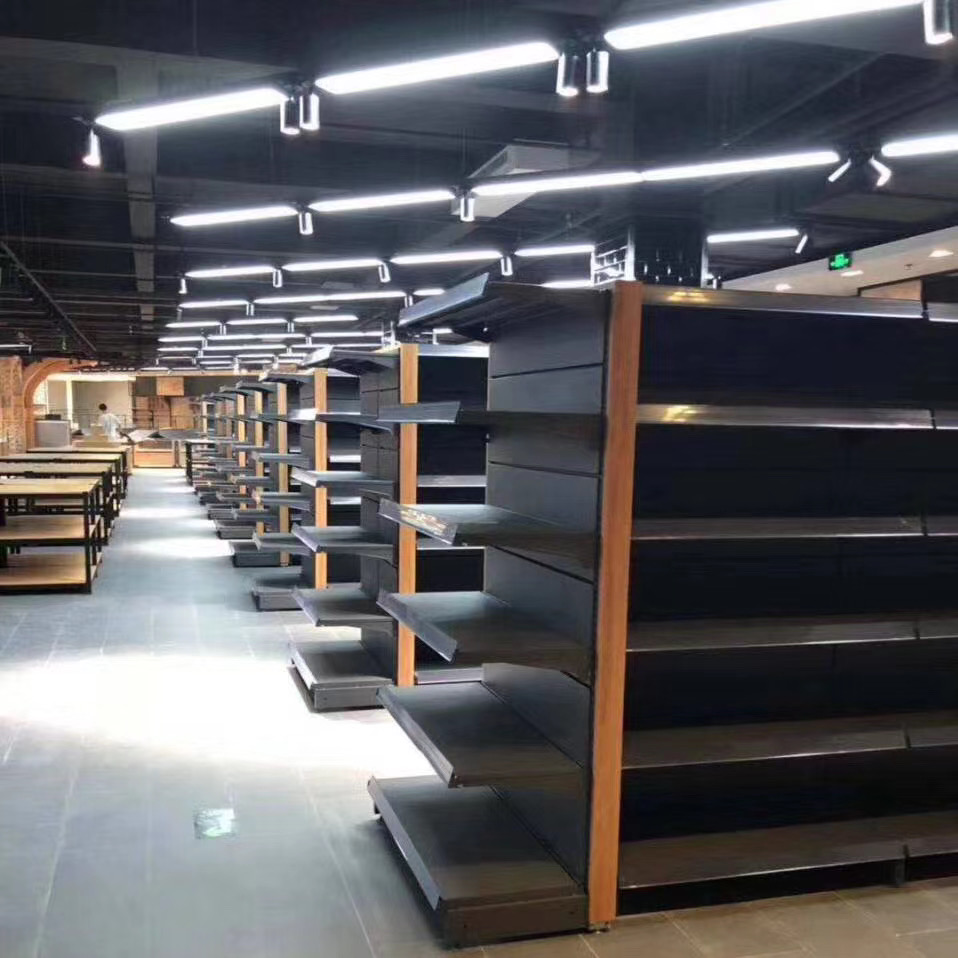 四川超市货架什么材质比较好,四川钢木货架有哪些特点?