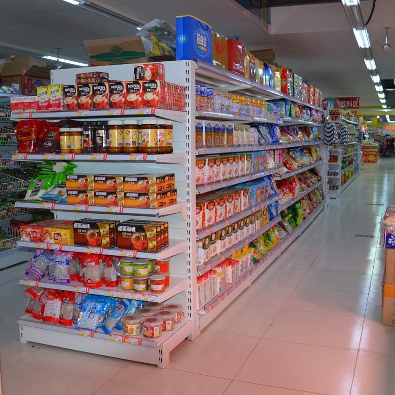 四川超市货架摆放技巧!鑫鹏鑫在线教学!