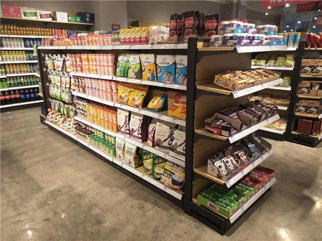 便利店货架与超市货架有什么区别?