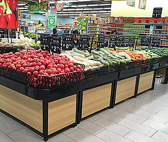 品质果蔬货架,打造整洁超市空间!