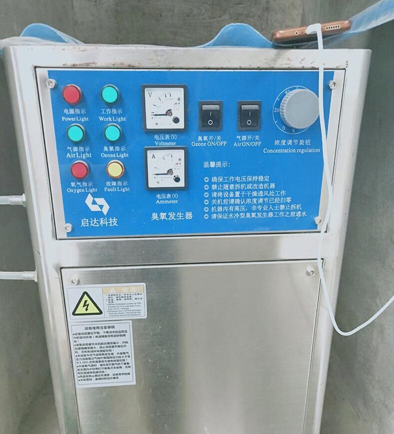 布袋养虾设备:臭氧发生器使用案例