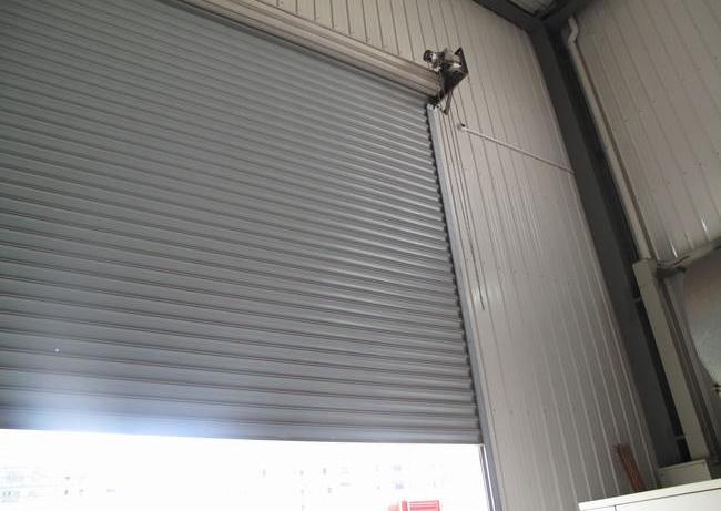 成都抗风卷帘门