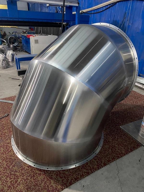 浅析成都不锈钢风管可分成环形和矩形框二种
