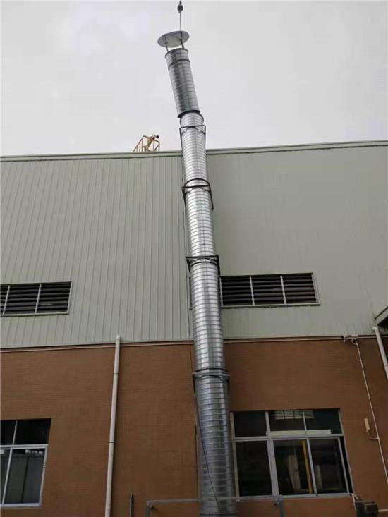 广汉厂房环保管道施工-成都螺旋风管