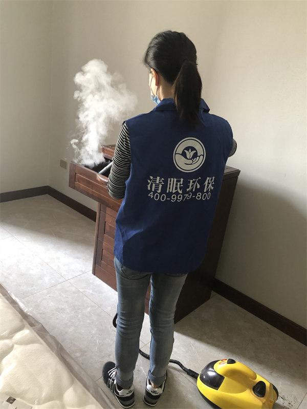 中州花园甲醛治理案例