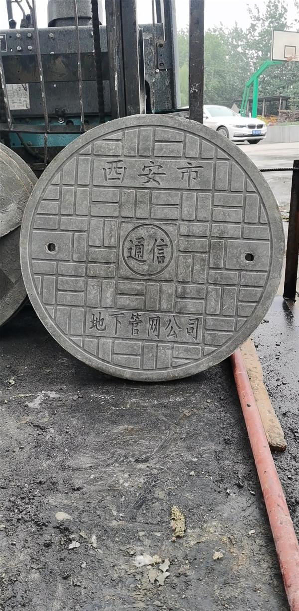 西安市政电力通信改造-地下管网水泥井盖-PVC双壁波纹管