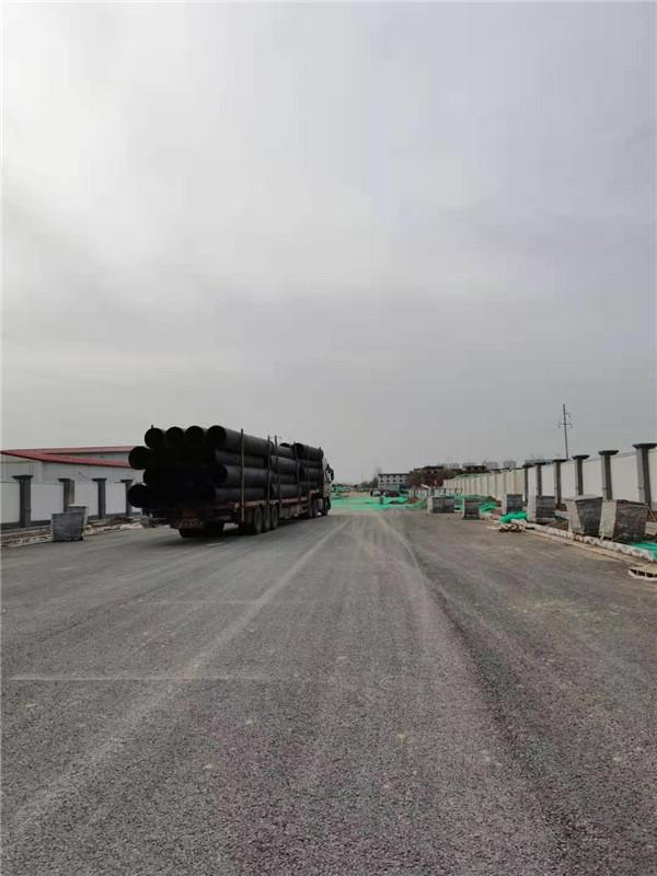 咸阳市泾阳市政排水系统改造-HDPE中空壁缠绕管