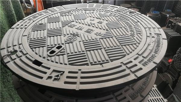 防沉降可调式井盖