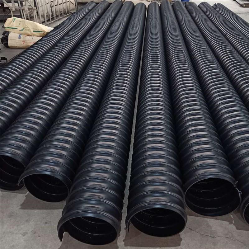 陕西HDPE钢带增强波纹管