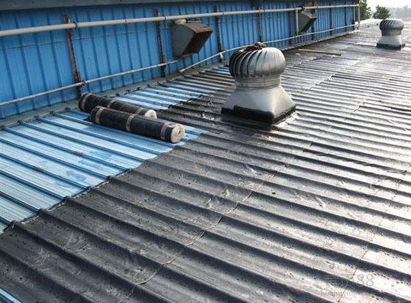成都楼顶防水施工