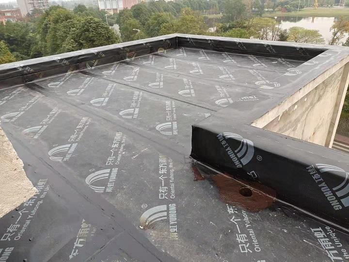 成都棠蓉园屋面防水