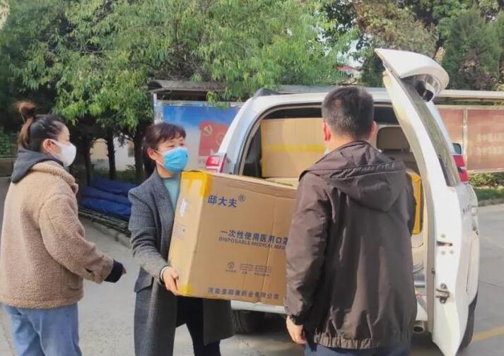 甘肃贝斯特bst2255c手机版贝斯特bst2255手机版集团有限公司向街道及社区捐赠口罩驰援抗疫