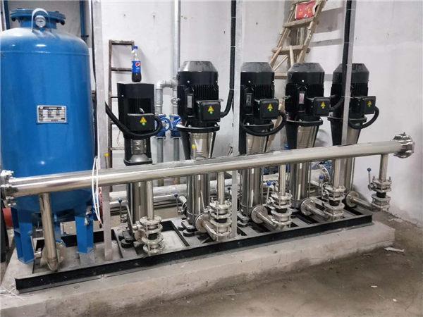 变频恒压供水设备安装