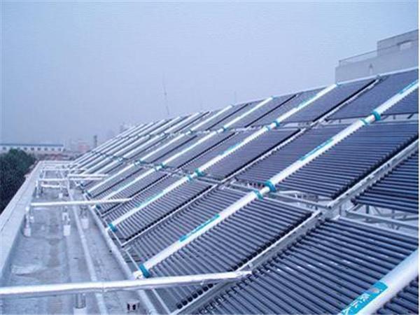 白银太阳能热水供给