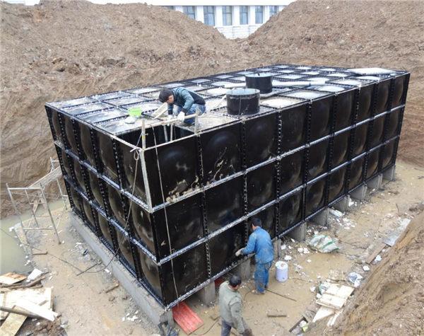 地埋式水箱安装
