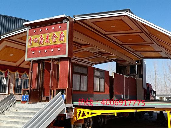 山西大同客户定制大型移动宴会车