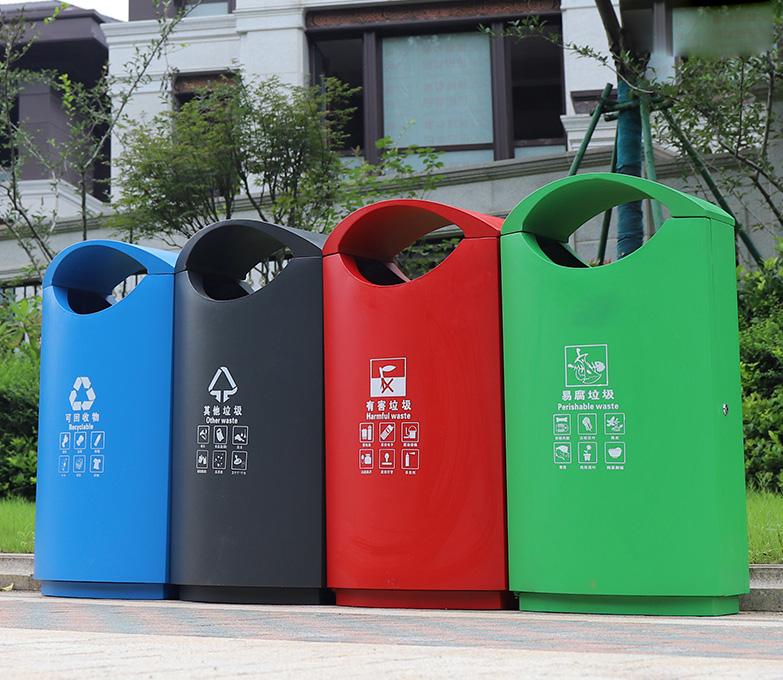 简约-垃圾桶
