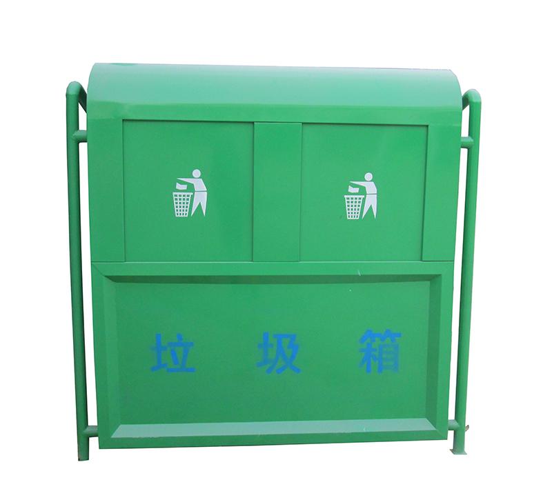 钢制垃圾箱