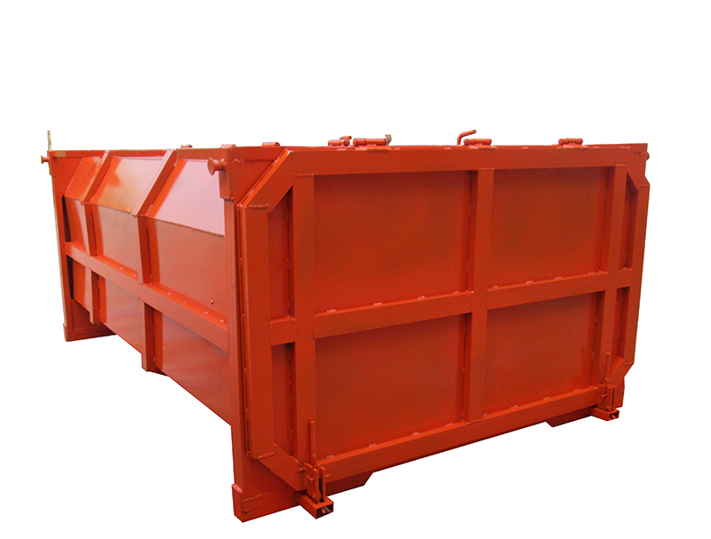 摆臂式钢制回收垃圾箱