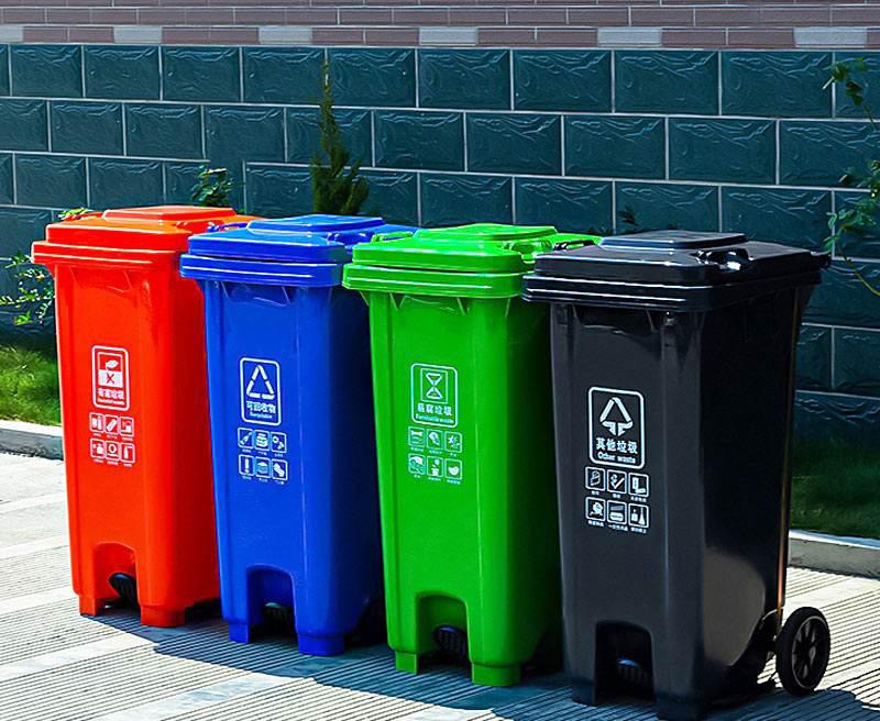 兰州塑料垃圾桶厂家