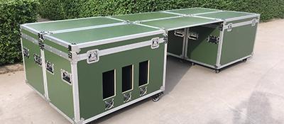 全运会安保设备包装箱定制工厂