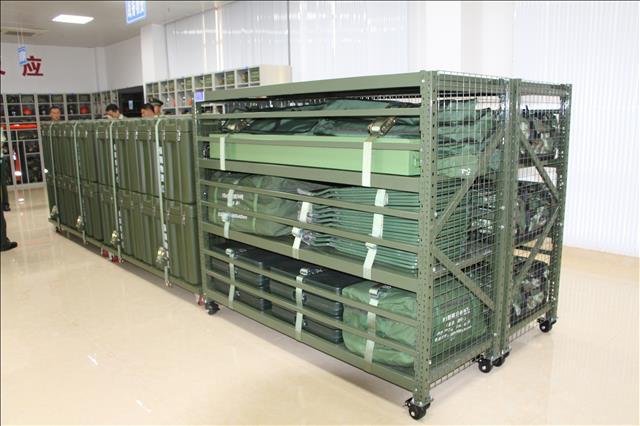 承重型可移动物资仓储货架