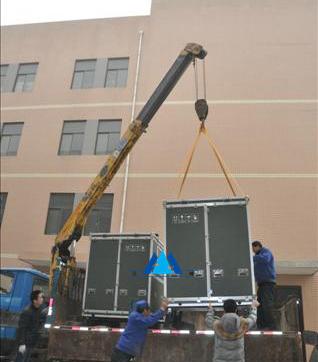 研究所18厘加重箱起吊装运