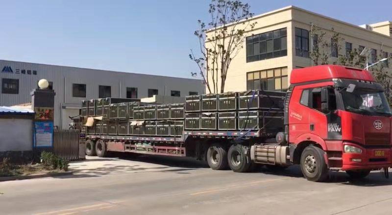 为武汉航空救生研究所订制的第二批设备箱
