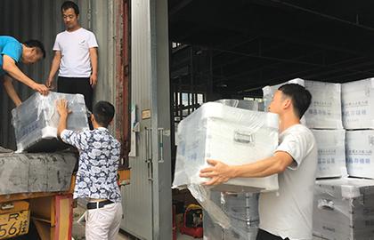 三峰铝箱厂样品存储箱产品收纳箱定制项目