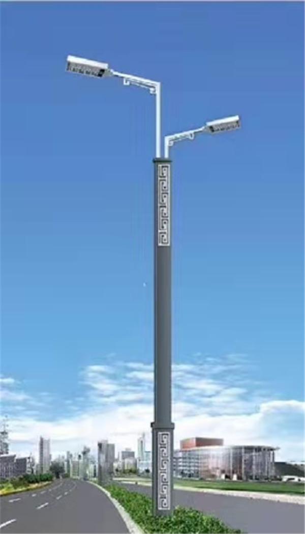 LED方管双臂路灯