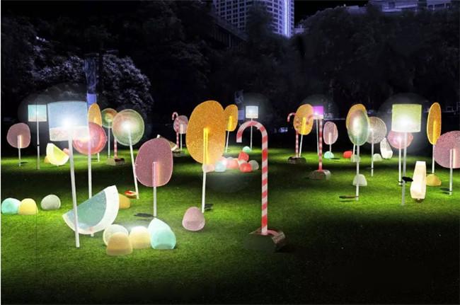如何玩转公园景观灯光设计?