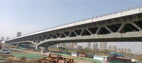 灞河桥施工展示
