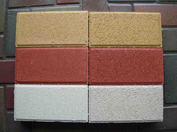 湖北彩色透水磚生產