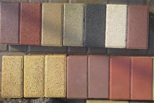 湖北彩色透水磚銷售