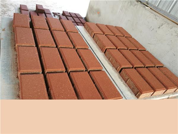 透水磚生產的關鍵工藝