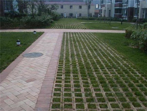 湖北植草磚有哪些用處?