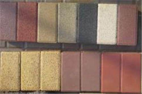 湖北彩色透水磚有哪幾種類型您知道嗎?以下幾點需要了解