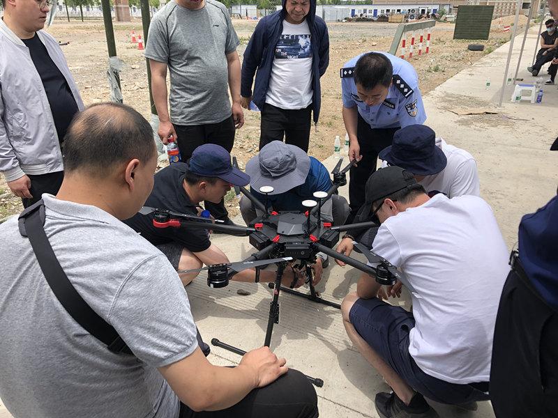 西安无人机培训学员相册