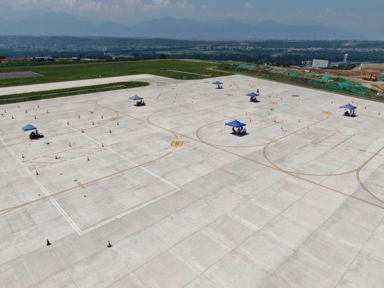 无人机飞行训练区