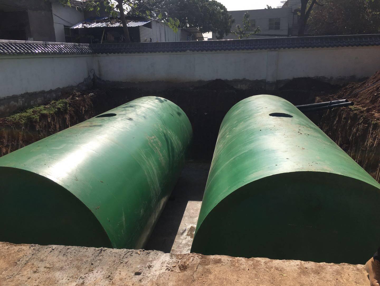 陕西水泥化粪池安装流程??