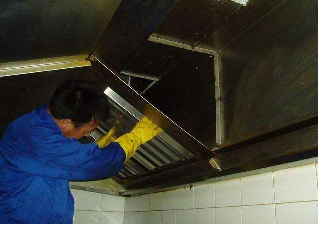 油烟管道、厨房油烟槽清理项目