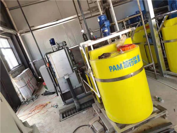 铜川智能产业园污水设备间现场施工