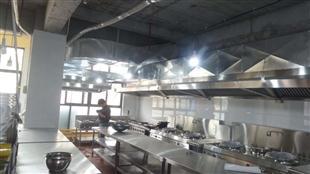郑州厨房设备安装案例:一枫宝贝幼儿园