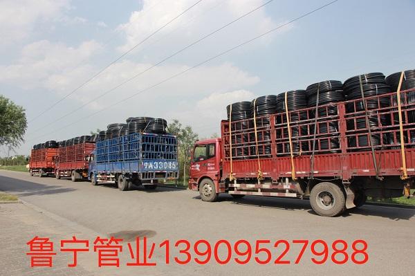 PE节水绿化灌溉管运输