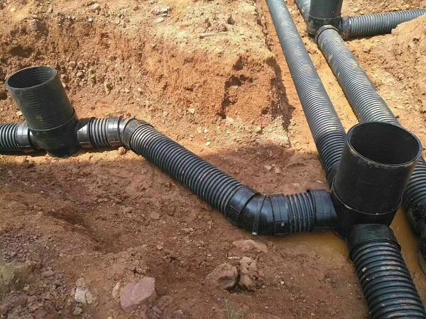 HDPE双壁波纹管安装