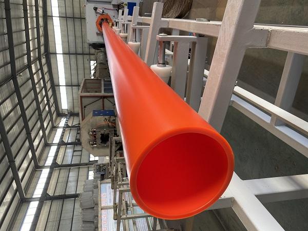 PE管用作电缆套管使用的优点