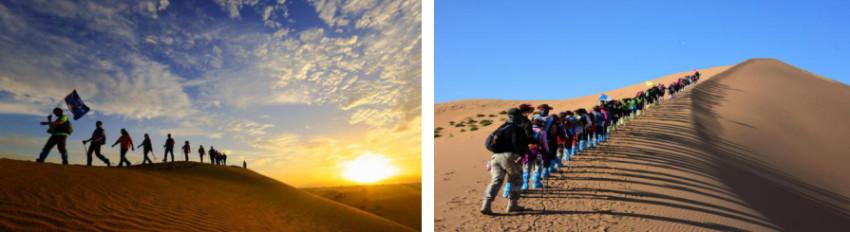 在宁夏沙漠团建以及穿越沙漠应该注意的事项